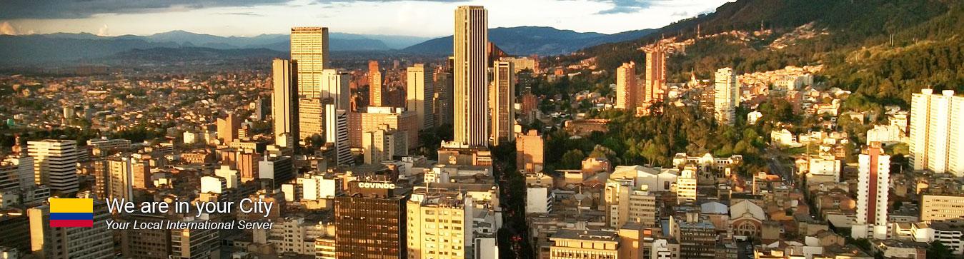 Server in Bogota