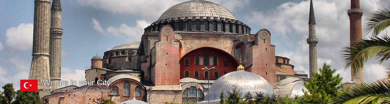 Server in Istanbul