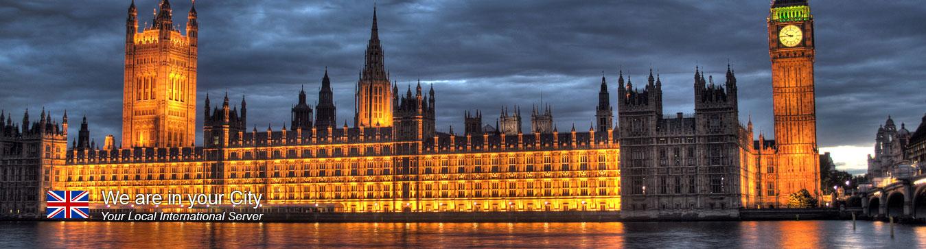 Server in London