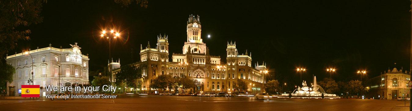 Server in Madrid