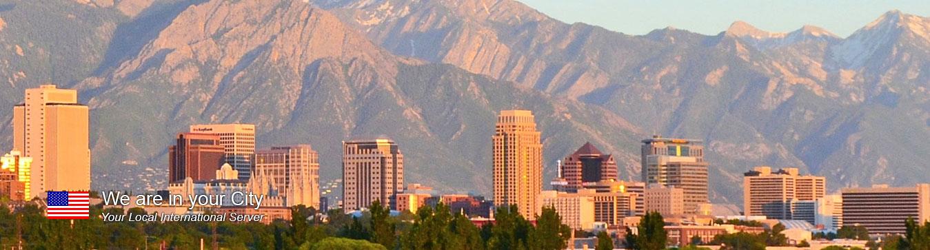 Server in Salt Lake City