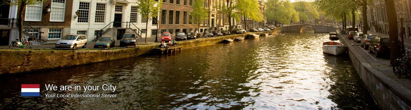 Server in Amsterdam